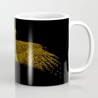 hunting Mugs featuring Hunting by Flying Mouse 365