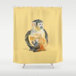 Spider Monkey. Shower Curtain