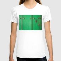 door T-shirts featuring Door by Caro Navarro