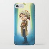 destiel iPhone & iPod Cases featuring A Destiel Christmas by Rebekah Kroeplin