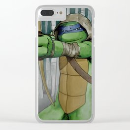 Vision Quest Leo Clear iPhone Case