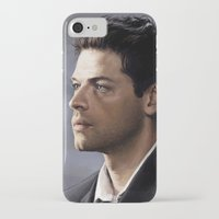castiel iPhone & iPod Cases featuring Castiel by Ansze
