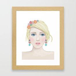 Accessories hair Framed Art Print