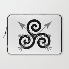 Never Love A Wild Thing Laptop Sleeve