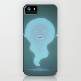 Happy Ghost iPhone Case