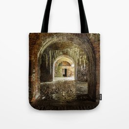 Through the Arches - Fort Morgan, AL Tote Bag
