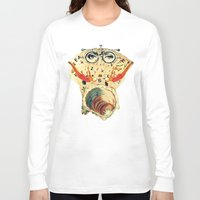 psychology Long Sleeve T-shirts featuring Mystical uterus by Laura Nadeszhda