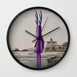 o n t h e b e a c h Wall Clock