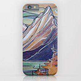 Evenings on Lake Revelstoke iPhone Case