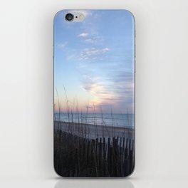 Winter sunrise sky iPhone Skin