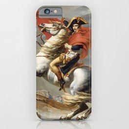 Bonaparte Crossing the Alps iPhone Case