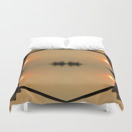 Beneath 4 Suns Duvet Cover