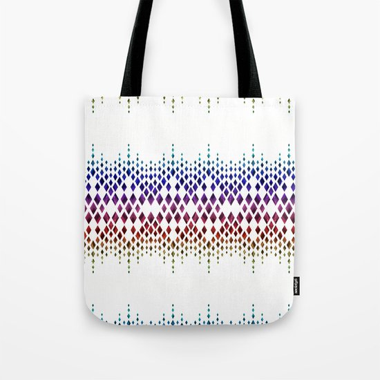 Colorful geometric pattern. Tote Bag