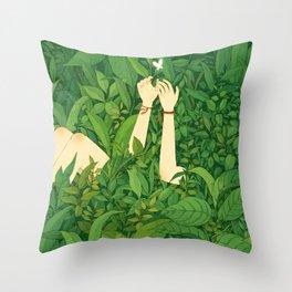 I wanna love u now Throw Pillow