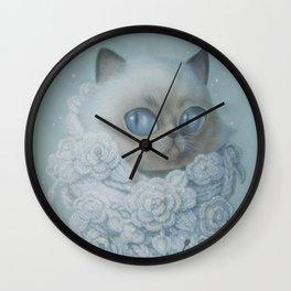If I were a cat Wall Clock