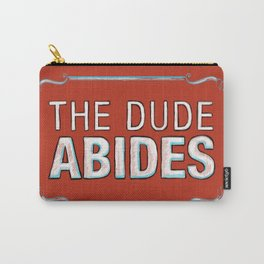 BIG LEBOWSKI- The Dude Abides Carry-All Pouch