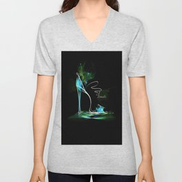 high heel2 Unisex V-Neck