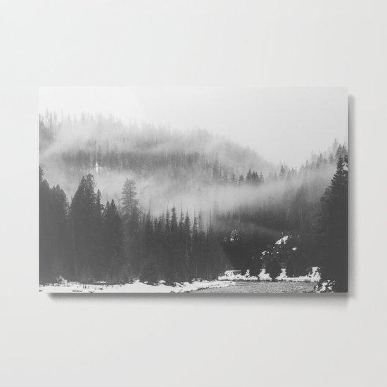 Mystic Forest Metal Print