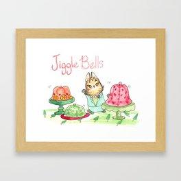 Jiggle Bells Framed Art Print
