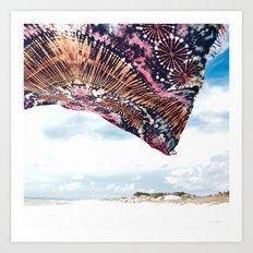 life is a beach - wanderlust Art Print