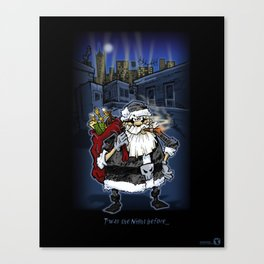 T'was the Night before... Canvas Print