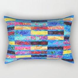 FLORAL QUILT Rectangular Pillow
