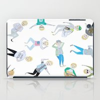 niall iPad Cases featuring Niall Pattern by jerrh