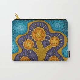 Seven Flowers Carry-All Pouch
