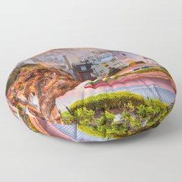 San Francisco 01 - USA Floor Pillow