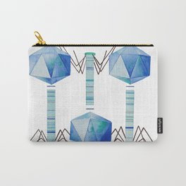 Bacteriophage 2, Science art, science, virus, microbiology, virology, geekery, science illustration Carry-All Pouch