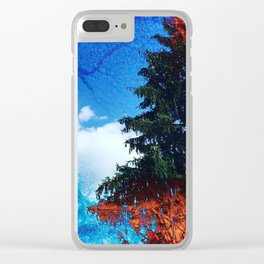 Natural Fault Line Clear iPhone Case