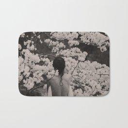 Vintage Spring Beauty Bath Mat