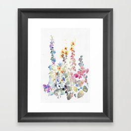 fiori II Framed Art Print
