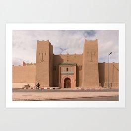 Ancient Gates - Morocco Art Print