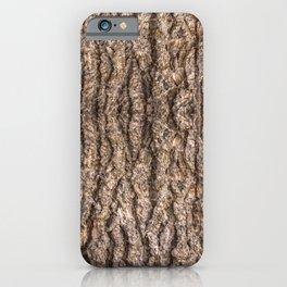 Hickory Bark iPhone Case