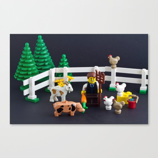 The new breed of farmer Canvas Print