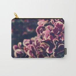 Hydrangea Flowers - Deep Purple Carry-All Pouch