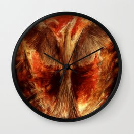 The Mockingjay Wall Clock