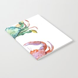 Colorful Crabs Notebook