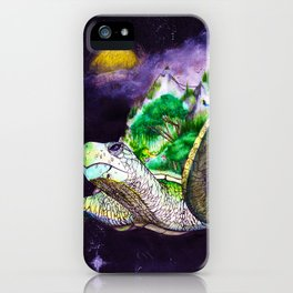 Earth Twortle iPhone Case