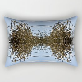 REBAR SPAGHETTI Rectangular Pillow