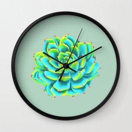Desert flower 3 Wall Clock