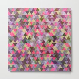 Geometric Pattern IX Metal Print