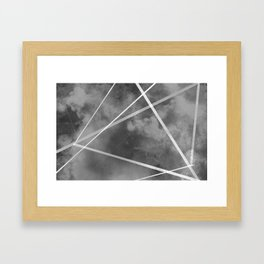 """Interdimensional Highway"" Digital Painting // Fine Art Print Framed Art Print"