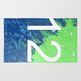 Blue & Green, 12, No. 4 Rug