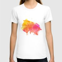 splash T-shirts featuring Splash #society6 #buyart #decor by 83 Oranges™