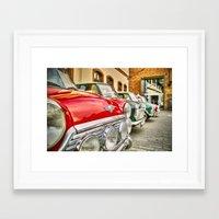 mini Framed Art Prints featuring mini by Dr3amdancer