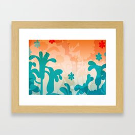 Breezy Bracken Framed Art Print