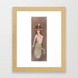 Manasa, The Serpent Queen Framed Art Print