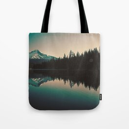 Morning Mountain Adventure Tote Bag